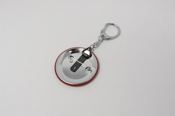 吊かんを使ったキーホルダーの写真